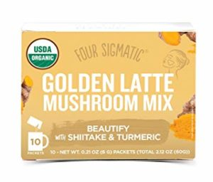 Golden Latte with Shiitake and Turmeric – 10 Sachets