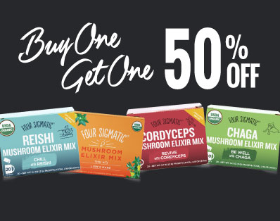 Buy One Get One 50% OFF Four Sigmatic - Raw Elements
