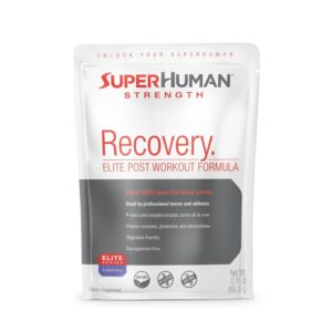 Superhuman Strength Grass Fed Whey Recovery Sample