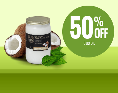 50% OFF Coconut Oil - Raw Elements